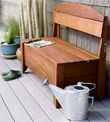 Hosebench from Sunset Magazine